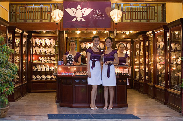 Lotus Jewellery Store in Hoi An